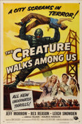 "Movie Posters:Science Fiction, The Creature Walks Among Us (Universal International, 1956). OneSheet (27"" X 41"")...."