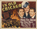 """Movie Posters:Drama, In Old Chicago (20th Century Fox, 1937). Half Sheet (22"""" X 28"""")Style B...."""