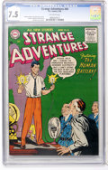 Silver Age (1956-1969):Science Fiction, Strange Adventures #66 (DC, 1956) CGC VF- 7.5 Off-white pages....