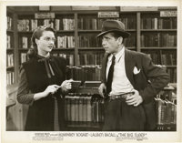 "Humphrey Bogart and Dorothy Malone in ""The Big Sleep"" Publicity Still (Warner Brothers, 1946). Still (8""..."