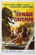 "Movie Posters:Science Fiction, Teenage Caveman (American International, 1958). One Sheet (27"" X41"")...."