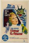 "Movie Posters:Horror, Curse of the Demon (Columbia, 1957). Australian One Sheet (27"" X40"")...."
