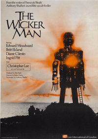 "The Wicker Man (National General, 1973). British One Sheet (27"" X 40"")"