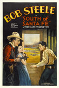 """Movie Posters:Western, South of Santa Fe (Sono Art-World Wide Pictures, 1932). One Sheet (27"""" X 41"""")...."""
