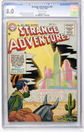 Golden Age (1938-1955):Science Fiction, Strange Adventures #61 (DC, 1955) CGC VF 8.0 Off-white pages....