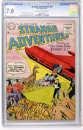 Golden Age (1938-1955):Science Fiction, Strange Adventures #59 (DC, 1955) CGC FN/VF 7.0 Cream to off-whitepages....