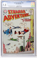 Golden Age (1938-1955):Science Fiction, Strange Adventures #56 (DC, 1955) CGC VF- 7.5 Cream to off-whitepages....