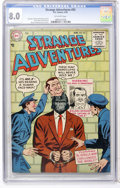 Golden Age (1938-1955):Science Fiction, Strange Adventures #55 (DC, 1955) CGC VF 8.0 Off-white pages....