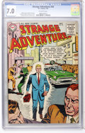 Golden Age (1938-1955):Science Fiction, Strange Adventures #58 (DC, 1955) CGC FN/VF 7.0 Off-white pages....
