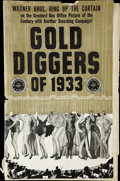 "Movie Posters:Musical, Gold Diggers of 1933 (Warner Brothers, 1933). Pressbook (MultiplePages, 11.5"" X 17"")...."