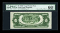 Error Notes:Inverted Reverses, Fr. 1505 $2 1928D Legal Tender Note. PMG Gem Uncirculated 66EPQ....