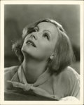 "Movie Posters:Drama, Greta Garbo Publicity Still by Clarence Sinclair Bull (MGM, 1930s).Still (8"" X 10"")...."