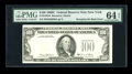 Error Notes:Third Printing on Reverse, Fr. 2166-B $100 1969C Federal Reserve Note. PMG Choice Uncirculated 64 EPQ....