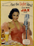 "Movie Posters:Miscellaneous, Dorothy Dandridge Advertising Poster (Jackson Brewing, 1950s).Poster (21"" X 28"")...."