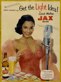 "Dorothy Dandridge Advertising Poster (Jackson Brewing, 1950s). Poster (21"" X 28"")"