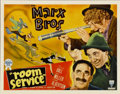 "Movie Posters:Comedy, Room Service (RKO, 1938). Half Sheet (22"" X 28"")...."