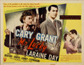 "Movie Posters:Romance, Mr. Lucky (RKO, 1943). Half Sheet (22"" X 28"") Style B...."