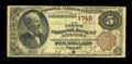 National Bank Notes:Wisconsin, Appleton, WI - $5 1882 Brown Back Fr. 472 The First NB Ch. # 1749. ...