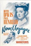 "Movie Posters:Romance, Now, Voyager (Warner Brothers, 1942). One Sheet (27"" X 41"")...."