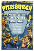"Movie Posters:Drama, Pittsburgh (Universal, 1942). One Sheet (27"" X 41"")...."