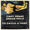 "Movie Posters:Hitchcock, To Catch a Thief (Paramount, 1955). Six Sheet (81"" X 81"")...."