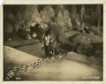 """Movie Posters:Science Fiction, Woman in the Moon (UFA, 1929). German Lobby Card (9.5"""" X 11.5"""")...."""