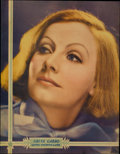 "Movie Posters:Miscellaneous, Greta Garbo Promotional Poster (MGM, 1932). Half Sheet (22"" X28"")...."