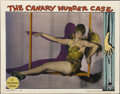 "Movie Posters:Crime, The Canary Murder Case (Paramount, 1929). Lobby Card (11"" X14"")...."
