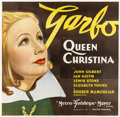 """Movie Posters:Drama, Queen Christina (MGM, 1933). Six Sheet (81"""" X 81"""")...."""