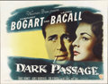 "Movie Posters:Film Noir, Dark Passage (Warner Brothers, 1947). Half Sheet (22"" X 28"") StyleA...."
