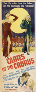 "Movie Posters:Comedy, Ladies of the Chorus (Columbia, 1948). Insert (14"" X 36"")...."