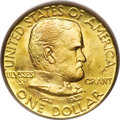 Commemorative Gold, 1922 G$1 Grant with Star MS68 PCGS....