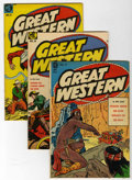 Golden Age (1938-1955):Horror, Great Western #9-11 Group (Magazine Enterprises, 1954).... (Total:3 Comic Books)
