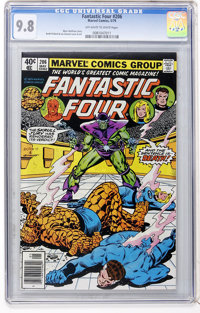Fantastic Four #206 (Marvel, 1979) CGC NM/MT 9.8 Off-white to white pages