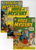 Golden Age (1938-1955):Horror, House of Mystery Group (DC, 1954-55).... (Total: 4 Comic Books)