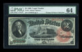Large Size:Legal Tender Notes, Fr. 42 $2 1869 Legal Tender PMG Choice Uncirculated 64....