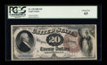 Large Size:Legal Tender Notes, Fr. 138 $20 1880 Legal Tender PCGS Choice New 63....