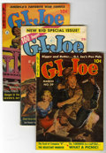 Golden Age (1938-1955):War, G. I. Joe Group (Ziff-Davis, 1952-55).... (Total: 8 Comic Books)