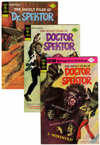 Occult Files of Doctor Spektor File Copies Group (Gold Key, 1974-76) Condition: Average VF-.... (Total: 19 Comic Books)