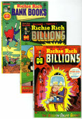 Bronze Age (1970-1979):Cartoon Character, Richie Rich Billions File Copies Group (Harvey, 1974-82) Condition:Average NM.... (Total: 10 Comic Books)