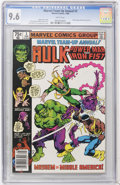 Modern Age (1980-Present):Superhero, Marvel Team-Up Annual #3 Hulk and Power Man and Iron Fist (Marvel,1980) CGC NM+ 9.6 White pages....