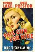 "Movie Posters:Film Noir, This Gun for Hire (Paramount, 1942). One Sheet (27"" X 41"")...."