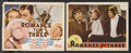 """Movie Posters:Romance, Romance for Three (MGM, 1938). Title Lobby Card (11"""" X 14"""") and Lobby Card (11"""" X 14""""). Romantic Comedy. Starring Robert You... (Total: 2 Items)"""
