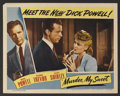"Movie Posters:Film Noir, Murder, My Sweet (RKO, 1944). Lobby Card (11"" X 14""). Film Noir. Starring Dick Powell, Claire Trevor, Anne Shirley, Otto Kru..."