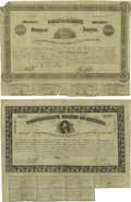 Confederate Notes:Group Lots, Ball 42; 51 Cr. 26; 28 $100; $100 Bonds Very Good. The Ball 42 hasa vignette of the Richmond City Hall and it is missing it...(Total: 2 items)
