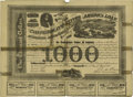 Confederate Notes:Group Lots, Counterfeit Ball C201 Cr. X125 Bond $1000 1863 Good-Very Good,repairs. This is a counterfeit bond that has several tape rep...