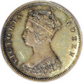 Hong Kong: , Hong Kong: Victoria. Proof 10 Cents 1863, Pr-54a, KM6.1, plain edge, Proof 64 PCGS. Boldly struck with nicely mirrored fields and argen...