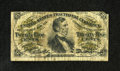 Miscellaneous, Fr. 1298 25¢ Third Issue Very Good-Fine....