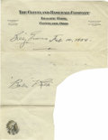 Autographs:Letters, Billy Evans Cut Signature. For 22 in the early history of baseball,Billy Evans was regarded as one of the finest AL umpire...
