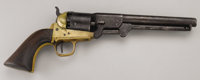 A Griswold and Gunnison Confederate Revolver, Private John E. Morris, 7th Mississippi Cavalry - Forrest's Cavalry Privat...